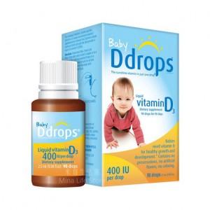 嬰兒維他命D3滴劑 2.5毫升
