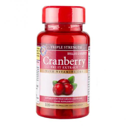 蔓越莓維C+E 100粒