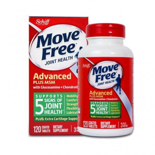 葡萄糖胺軟骨素再升級添加MSM 5合1特強關節配方 (120粒裝) (美版)