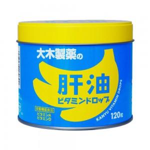 肝油維生素軟糖 120粒