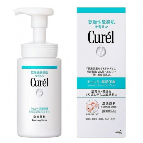 乾燥性敏感肌 泡沬潔面乳 150ml