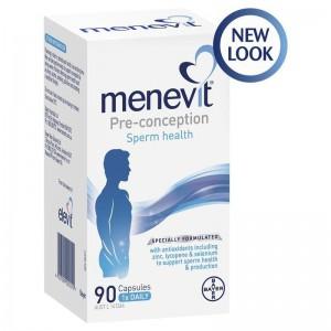 Menevit 男士備孕營養素 [90粒]