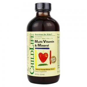 23種維生素 兒童多種複合維生素 基礎營養液 237ml